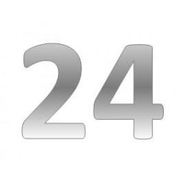 Кожаный ремешок для часов 24 мм