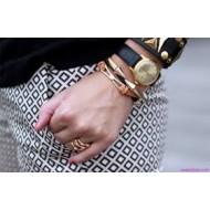 Металлические женские браслеты