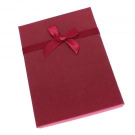 Футляр для бижутерии (подвеска с цепочкой + кольцо) FB011