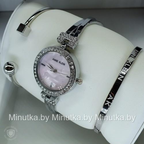 Комплект! Женские наручные часы Anne Klein + два браслета CWC959