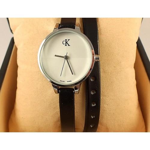 Часы с двойным ремнем Calvin Klein CWD006