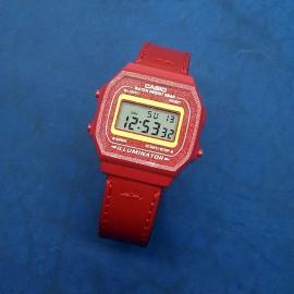 Электронные наручные часы Casio + ремешок ручной работы от REMEN-Master CWC981