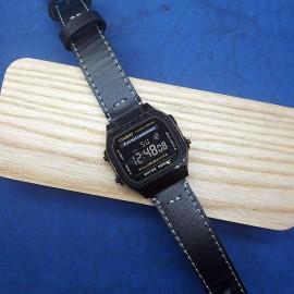 Электронные наручные часы Casio + ремешок ручной работы от REMEN-Master CWC987