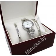 Женские наручные часы GUCCI и два металлических браслета CWC718