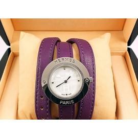 Часы с двойным ремнем Hermes CWD036