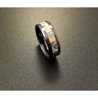 Кольцо мужское из керамики CRK006