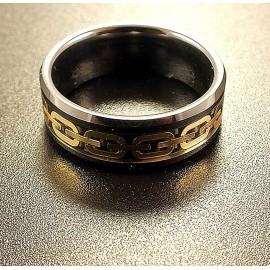Кольцо мужское из керамики CRK019