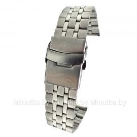 Браслет металлический для часов 22 мм CRW033-22