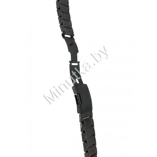 Браслет металлический для часов 24 мм N412-24Black