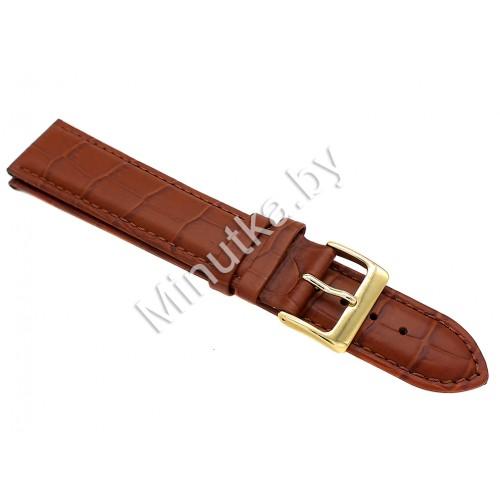 Ремешок кожаный для часов 22 мм CRW030-22