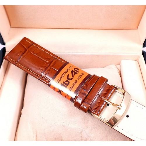 Кожаный ремешок для наручных часов Пульсар CRW145