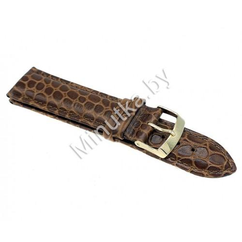 Ремешок кожаный для часов 22 мм CRW160-22