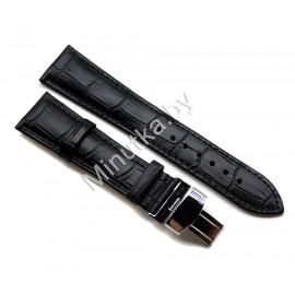 Ремешок с раскладной застежкой для часов 22 мм CRW174-22