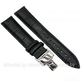 Ремешок с раскладной застежкой для часов 22 мм CRW263-22