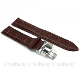 Ремешок с раскладной застежкой для часов 20 мм CRW267-20
