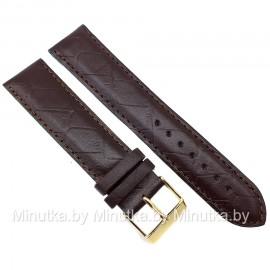 Ремешок кожаный для часов 22 мм CRW278-22