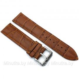 Ремешок кожаный для часов 22 мм CRW287-22
