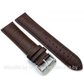 Ремешок кожаный для часов 22 мм CRW290-22
