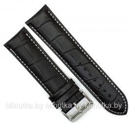 Ремешок кожаный для часов 22 мм CRW296-22
