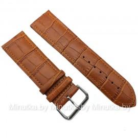 Ремешок кожаный для часов 26 мм CRW078-26
