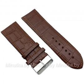 Ремешок кожаный для часов 28 мм CRW137-28