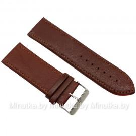 Ремешок кожаный для часов 28 мм CRW141-28