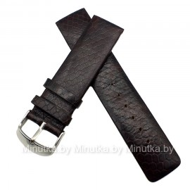 Ремешок кожаный для часов 22 мм CRW224-22