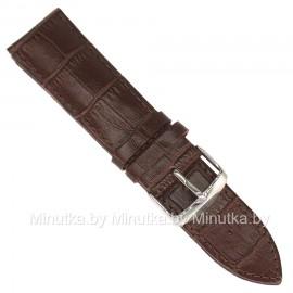Ремешок кожаный для часов 26 мм CRW029-26