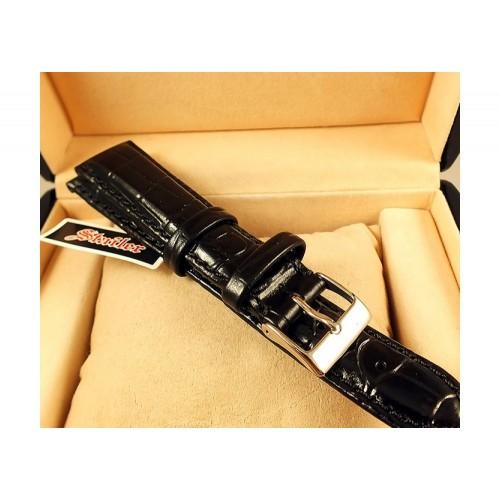 Ремешок кожаный для часов 20 мм 1081-2001