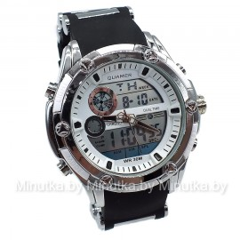 Спортивные часы на каучуковом ремешке Quamer CWS363 (Оригинал)