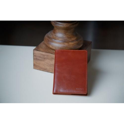 Обложка для паспорта из кожи ручной работы BL005