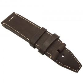 Кожаный ремешок ручной работы для часов 24 мм Remen M004-24