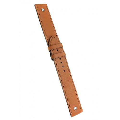 Кожаный ремешок ручной работы для часов 18 мм Remen M012-18
