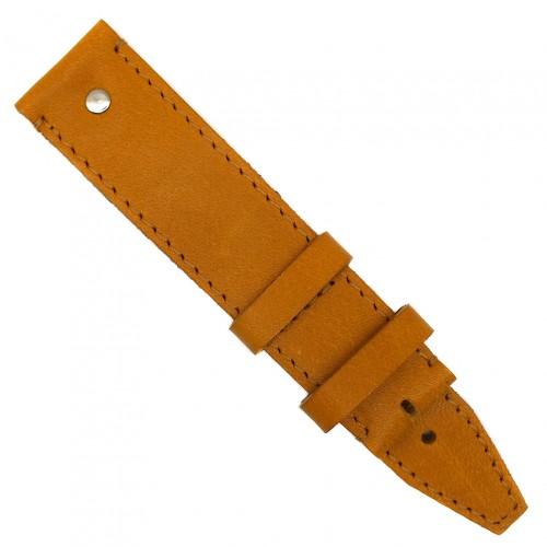 Кожаный ремешок ручной работы для часов 18 мм Remen M014-18