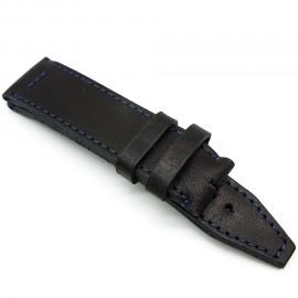 Кожаный ремешок ручной работы для часов 24 мм Remen M021-24