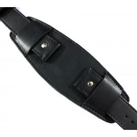 Кожаный ремешок ручной работы с напульсником для часов 22 мм Remen M029-22