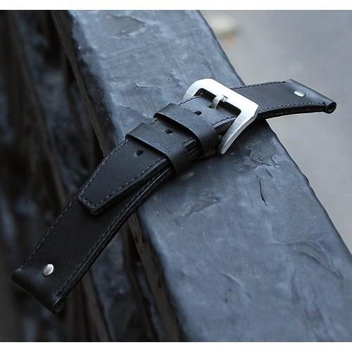Кожаный ремешок ручной работы для часов 18 мм Remen M030-18
