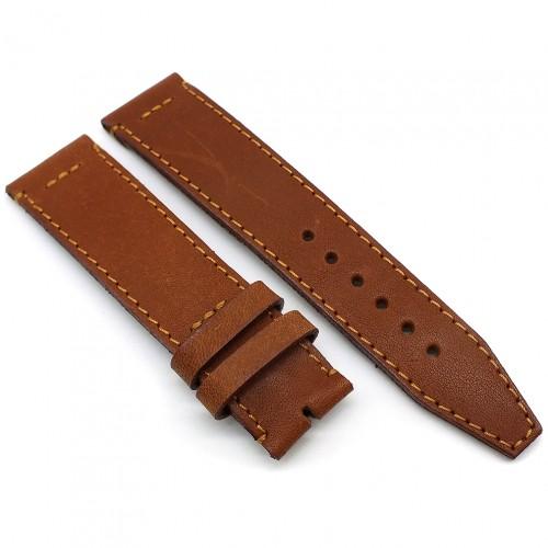 Кожаный ремешок ручной работы для часов 18 мм Remen M044-18