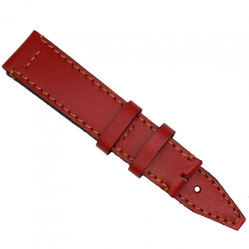 Кожаный ремешок ручной работы для часов 18 мм Remen M051-18
