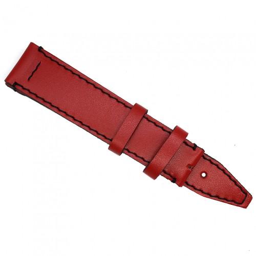 Кожаный ремешок ручной работы для часов 18 мм Remen M065-18