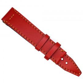 Кожаный ремешок ручной работы для часов 22 мм Remen M074-22