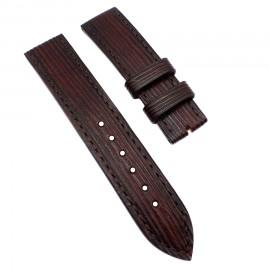 Авторский кожаный ремешок ручной работы для часов 22 мм Remen M075-22