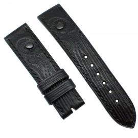 Авторский кожаный ремешок ручной работы для часов 22 мм Remen M078-22