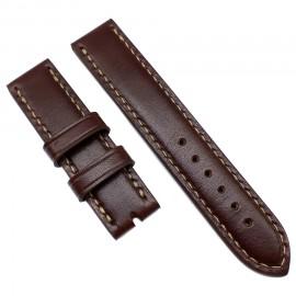 Авторский кожаный ремешок ручной работы для часов 22 мм Remen M079-22