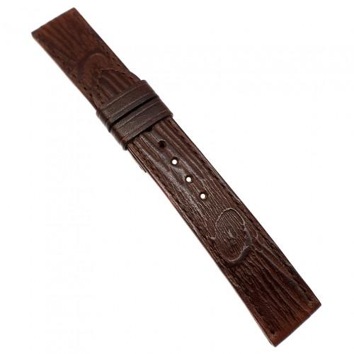 Авторский кожаный ремешок ручной работы для часов 22 мм Remen M082-22