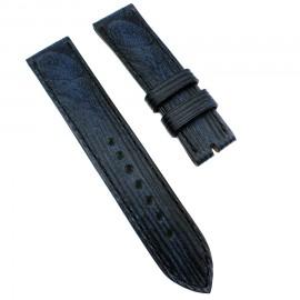 Авторский кожаный ремешок ручной работы для часов 22 мм Remen M083-22