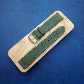 Кожаный ремешок ручной работы для часов 20 мм M101-20