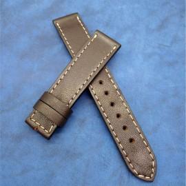 Кожаный ремешок ручной работы для часов 20 мм M103-20