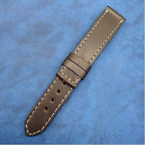 Кожаный ремешок ручной работы для часов 18 мм M103-18