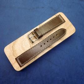 Кожаный ремешок ручной работы для часов 20 мм M111-20